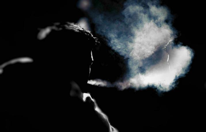 reflexie in fum