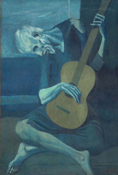 The old guitarist-Picasso